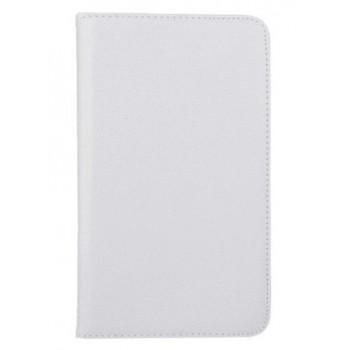 Чехол подставка роторный для Samsung Galaxy Tab 4 8.0 Белый