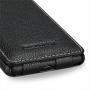 Чехол кожаный книжка вертикальная (нат. кожа) для Nokia Lumia 820