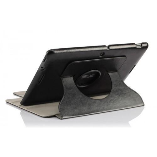Чехол подставка роторный серия Glossy Shield для ASUS MeMoPad 10 Me102a Синий