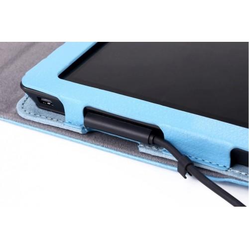 Кожаный чехол подставка серия Full Keyboard Cover для Microsoft Surface Pro 2 Коричневый