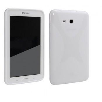 Силиконовый чехол X для Samsung Galaxy Tab 3 Lite 7.0 Белый