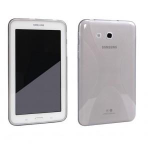 Силиконовый чехол X для Samsung Galaxy Tab 3 Lite 7.0 Серый