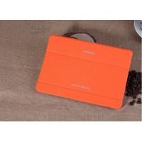 Чехол смарт флип подставка сегментарный серия Smart Cover для Samsung Galaxy Tab Pro 10.1 Оранжевый