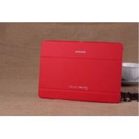 Чехол смарт флип подставка сегментарный серия Smart Cover для Samsung Galaxy Tab Pro 10.1 Красный