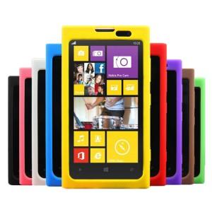 Силиконовый софт-тач чехол для Nokia Lumia 1020