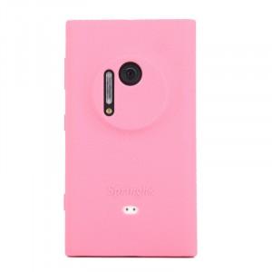 Силиконовый софт-тач чехол для Nokia Lumia 1020 Розовый