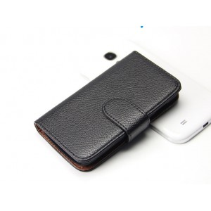 Чехол портмоне подставка для Samsung Galaxy Ace 3