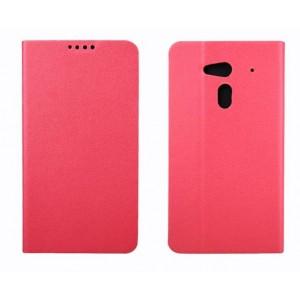 Чехол флип подставка для Acer Liquid Z5 Розовый