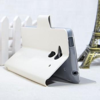 Чехол портмоне подставка для Acer Liquid Z5 Белый