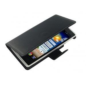 Кожаный чехол книжка горизонтальная (нат. кожа) для Acer Liquid Z5