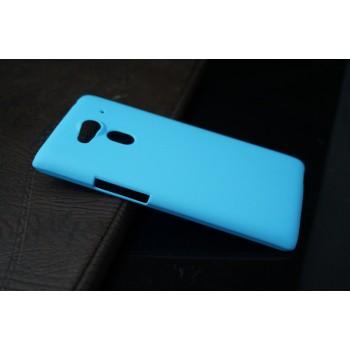 Пластиковый чехол для Acer Liquid Z5 Голубой