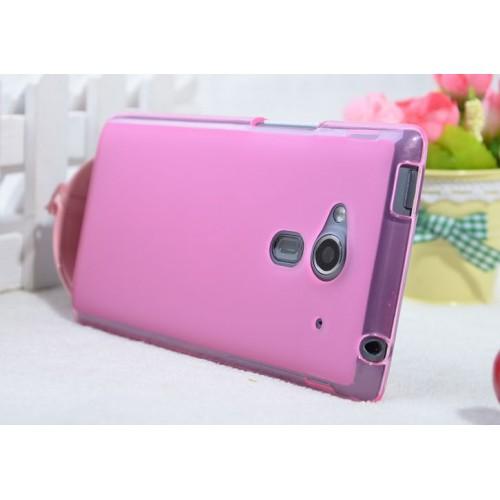 Силиконовый чехол для Acer Liquid Z5 Розовый
