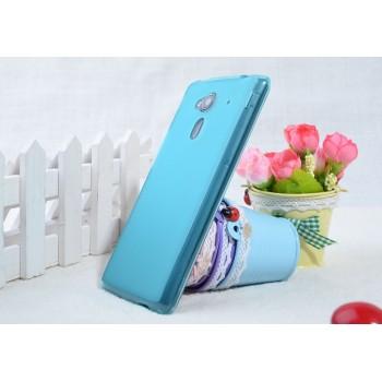 Силиконовый чехол для Acer Liquid Z5 Голубой