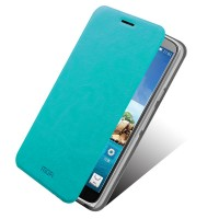 Чехол флип подставка водоотталкивающий для Alcatel One Touch Hero Зеленый