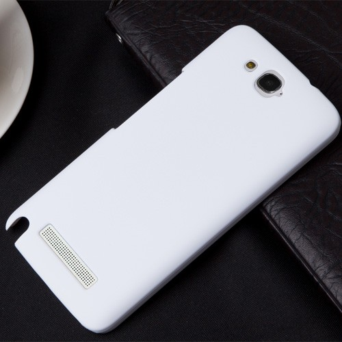 Пластиковый чехол для Alcatel One Touch Hero Белый