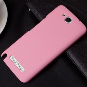 Пластиковый чехол для Alcatel One Touch Hero Розовый