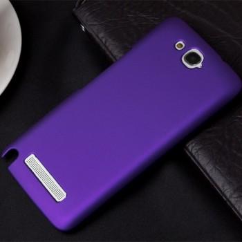 Пластиковый чехол для Alcatel One Touch Hero Фиолетовый