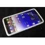 Силиконовый чехол софт тач премиум для Alcatel One Touch Hero
