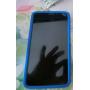 Силиконовый чехол софт тач премиум для Alcatel One Touch Hero Коричневый