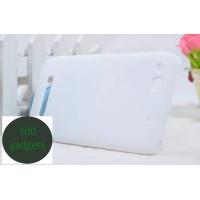 Пластиковый чехол для Alcatel One Touch Idol Alpha Белый