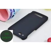 Пластиковый чехол для Alcatel One Touch Idol Alpha Черный