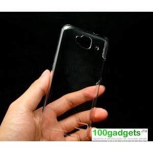 Пластиковый транспарентый чехол для Alcatel One Touch Idol Mini