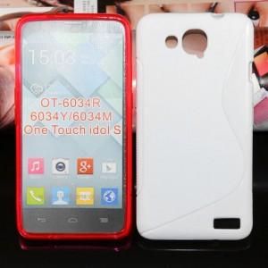 Силиконовый чехол S для Alcatel One Touch Idol S