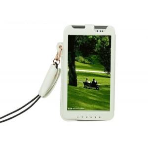 Кожаный чехол бампер подвеска подставка для Asus Fonepad Note 6 Белый