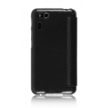 Чехол флип Phone Cover для Asus PadFone mini 4.3 Черный