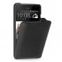 Кожаный чехол книжка вертикальная (нат. кожа) для HTC Butterfly S