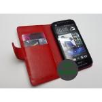 Кожаный чехол портмоне (нат. кожа) для HTC Butterfly S