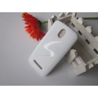 Силиконовый чехол для HTC Desire 500 Белый