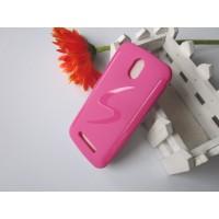 Силиконовый чехол для HTC Desire 500 Розовый