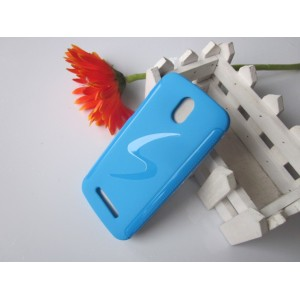 Силиконовый чехол для HTC Desire 500 Голубой