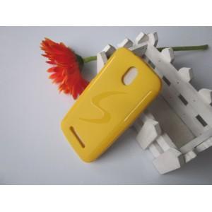 Силиконовый чехол для HTC Desire 500 Желтый