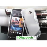 Бампер для HTC Desire 601 Белый
