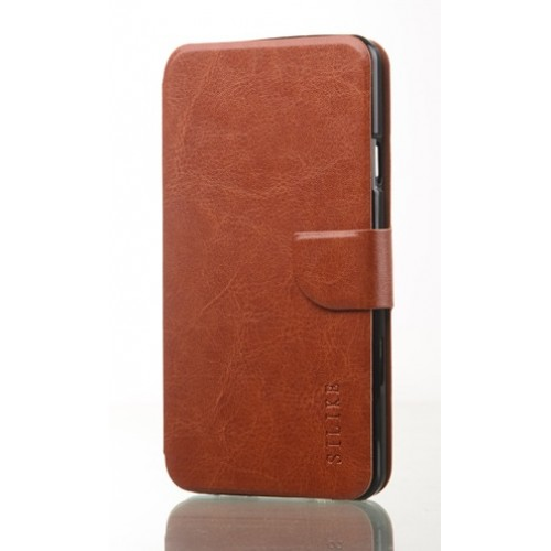 Чехол флип подставка для FLY IQ4404 SPARK Красный