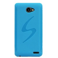 Силиконовый чехол S для Fly Iq4403 Energie 3 Голубой