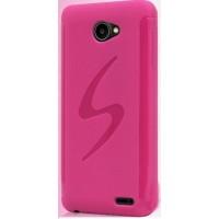 Силиконовый чехол S для Fly Iq4403 Energie 3 Розовый