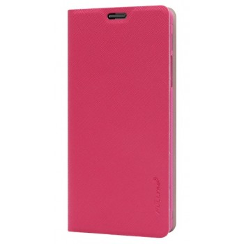 Чехол флип для Fly IQ4412 Quad Coral Розовый