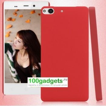 Пластиковый чехол для Fly IQ453 Luminor Красный