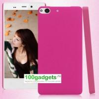 Пластиковый чехол для Fly IQ453 Luminor Розовый