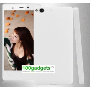 Пластиковый чехол для Fly IQ453 Luminor Белый