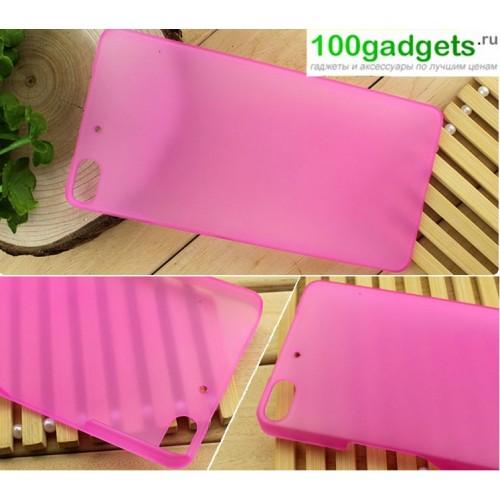 Пластиковый полупрозрачный чехол для Fly IQ453 Luminor
