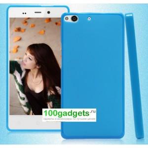 Силиконовый матовый полупрозрачный чехол для Fly IQ453 Luminor