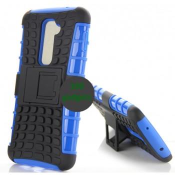 Силиконовый чехол экстрим защита для LG Optimus G2 Синий