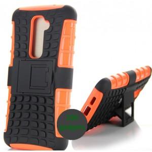 Силиконовый чехол экстрим защита для LG Optimus G2 Оранжевый