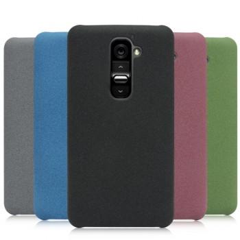 Пластиковый матовый чехол для LG Optimus G2