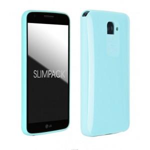 Силиконовый премиум чехол серия Ergonomic для LG Optimus G2 Голубой