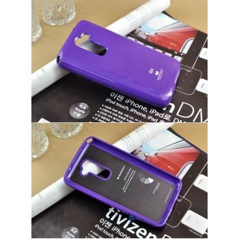Силиконовый чехол премиум для LG Optimus G2 Фиолетовый